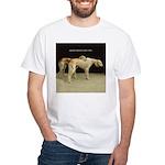 Saluki Best Friends White T-Shirt