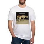 Saluki Best Friends Fitted T-Shirt