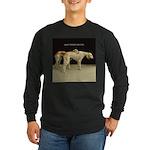 Saluki Best Friends Long Sleeve Dark T-Shirt