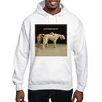 Saluki Best Friends Hooded Sweatshirt