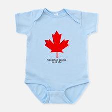 """""""Babies rock"""" leaf Infant Creeper"""