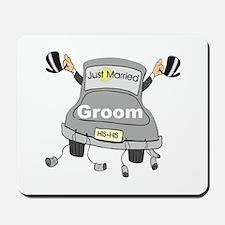 Groom Black Limo Mousepad