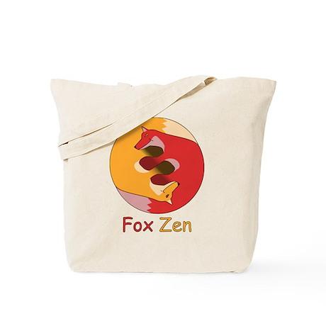 Fox Zen (Yin & Yang) Tote Bag