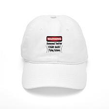 Warning Annoyed Twirler Baseball Cap