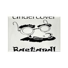 Undercover Bastard Rectangle Magnet (10 pack)