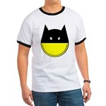 bat smiley Ringer T