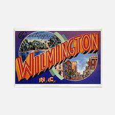 Wilmington North Carolina Greetings Rectangle Magn