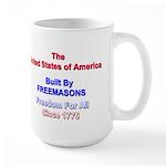 Masonic Freedom Large Mug