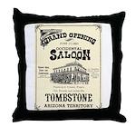 Occidental Saloon Throw Pillow