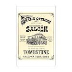 Occidental Saloon Mini Poster Print