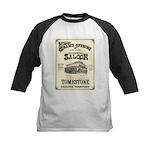 Occidental Saloon Kids Baseball Jersey