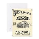 Occidental Saloon Greeting Card