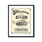 Occidental Saloon Framed Panel Print