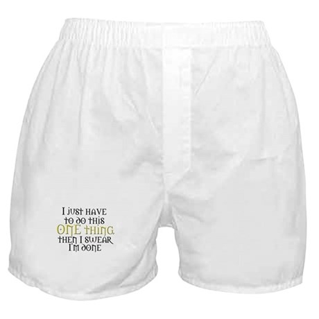 One Thing Boxer Shorts