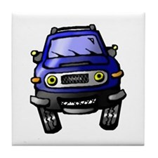 Unique Fj cruiser Tile Coaster