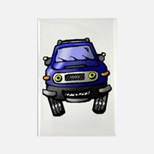 Unique Toyota fj cruiser Rectangle Magnet