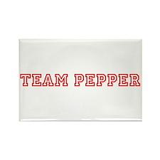 Team Pepper Rectangle Magnet