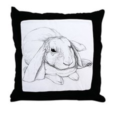 English Lop Throw Pillow