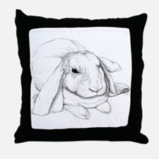 English Lop Throw Pillow