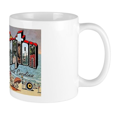 Wilmington North Carolina Greetings Mug