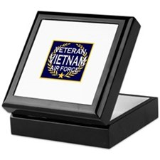 AIRFORCE VETERAN VIETNAM Keepsake Box