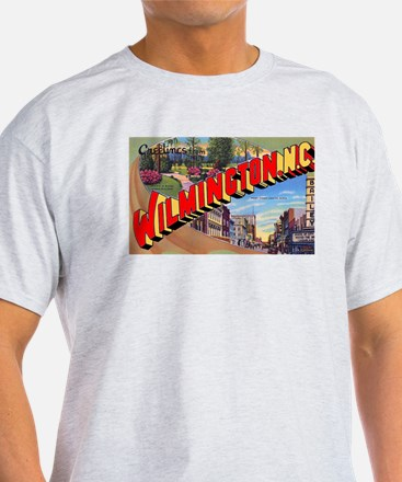 Wilmington North Carolina Greetings (Front) T-Shirt