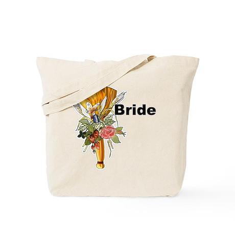 Jumping The Broom Bride Tote Bag