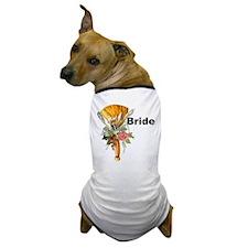 Jumping The Broom Bride Dog T-Shirt