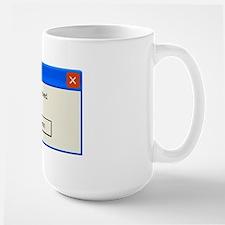 You're screwed error message Mug