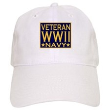 WORLD WAR II VETERAN Baseball Cap