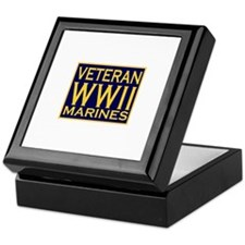 MARINES VETERAN WW II Keepsake Box
