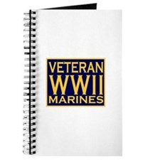 MARINES VETERAN WW II Journal