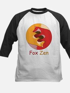 Fox Zen (Yin & Yang) Kids Baseball Jersey