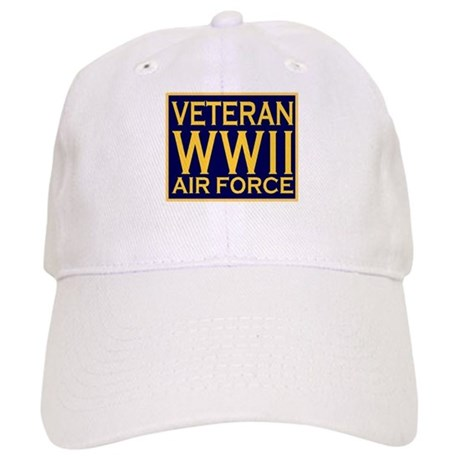 AIRFORCE VETERAN WW II Cap