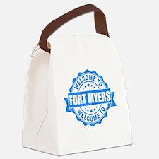 Cool Shore Canvas Lunch Bag