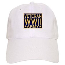 ARMY VETERAN WW II Baseball Cap