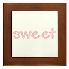 sweet Framed Tile