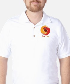 Fox Zen (Yin & Yang) Golf Shirt