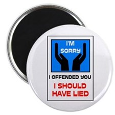 "SORRY 2.25"" Magnet (10 pack)"