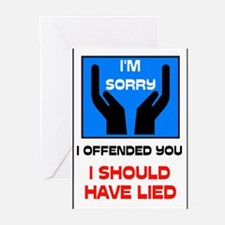 SORRY Greeting Cards (Pk of 20)