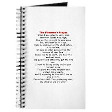 Fireman's Prayer Journal