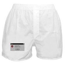 User Error Boxer Shorts