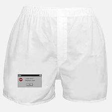 User Error Boxer Shorts