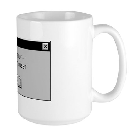 User Error Large Mug