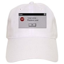 User Error Baseball Baseball Cap