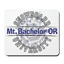 Snowboard Mt. Bachelor OR Mousepad