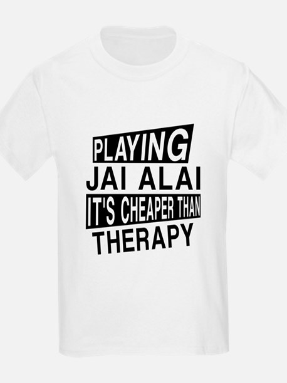 Awesome Jai Alai Player Designs T-Shirt