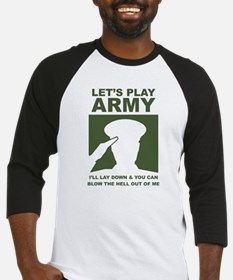 Let's Play Army Baseball Jersey