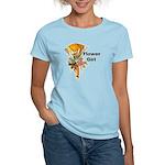 Jumping the Broom Flower Girl Women's Light T-Shir