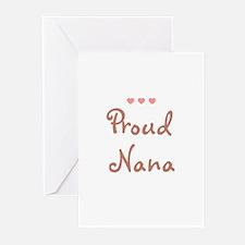 Proud Nana Greeting Cards (Pk of 10)